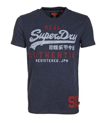 Superdry T-Shirt Vintage Navy