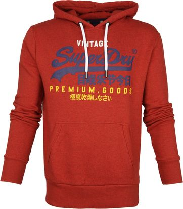 Superdry Trui Tri Rood