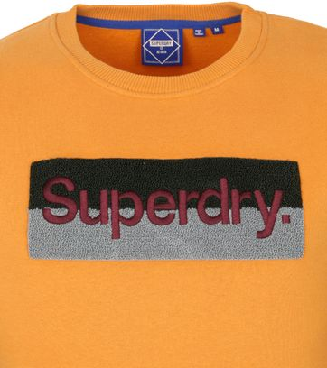 Superdry Trui Workwear Oranje