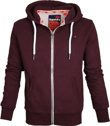 Superdry Vest Bordeaux