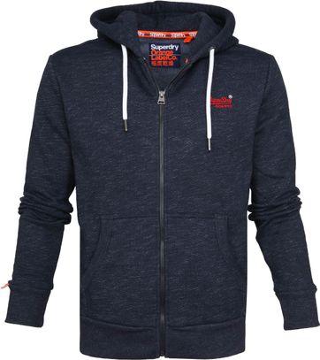 Superdry Vest Donkerblauw