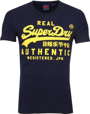 Superdry Vintage Authentic T-Shirt Navy
