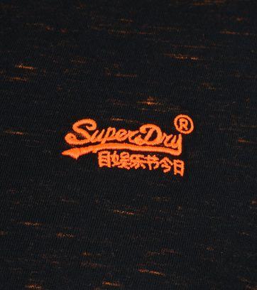 Superdry Vintage Crew T-Shirt Schwarz