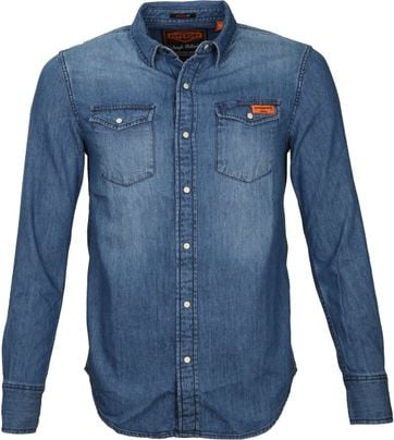 Superdry Vintage Denim Hemd