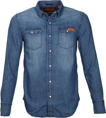 Superdry Vintage Denim Overhemd