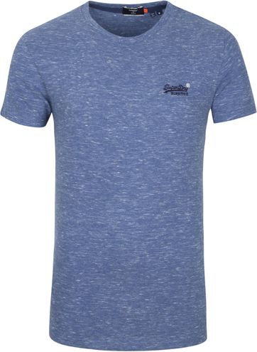 Superdry Vintage T-Shirt Blau