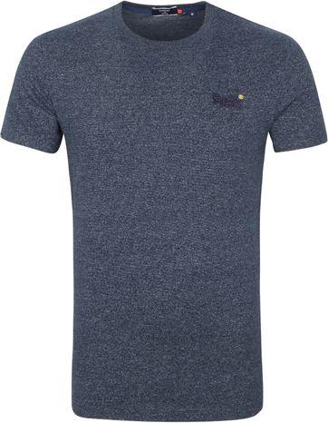 Superdry Vintage T-Shirt Dunkelblau