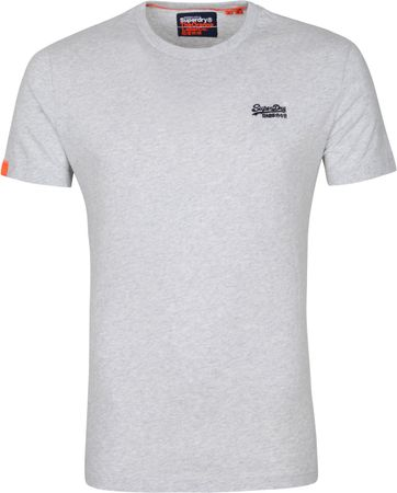 Superdry Vintage T Shirt EMB Grey