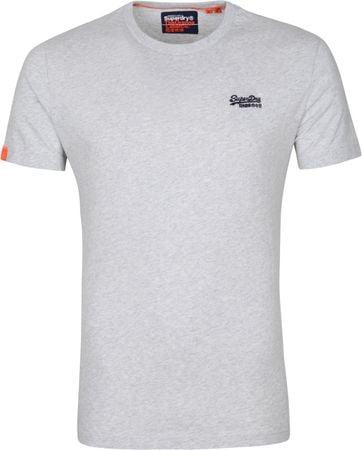Superdry Vintage T Shirt EMB Grey
