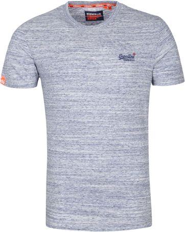 Superdry Vintage T Shirt Light Blue