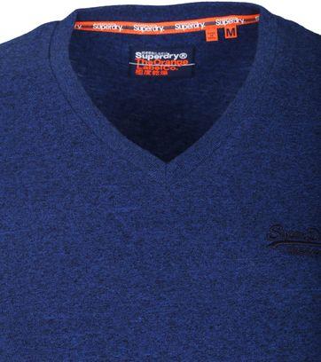 Superdry Vintage T-Shirt V-hals Donkerblauw
