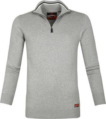 Superdry Zipper Grey