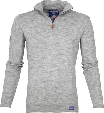 Superdry Zipper Northside Grau