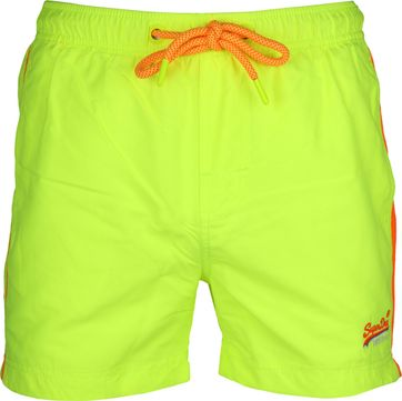 Superdry Zwembroek Beach Volley Neon Geel