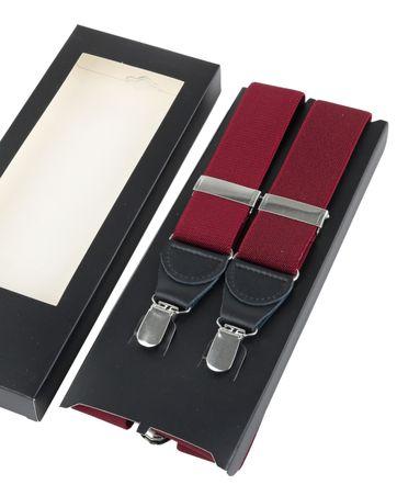 Suspenders Bordeaux