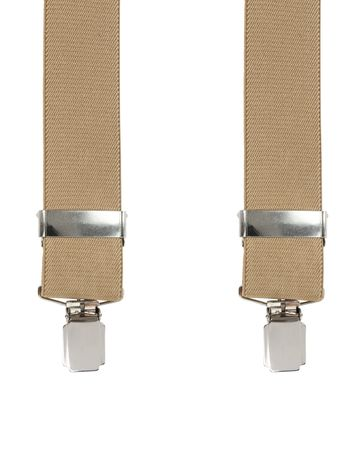 Suspenders Light Brown