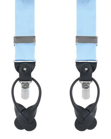 Suspenders Silk Blue F02