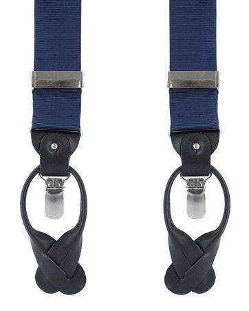 Suspenders Silk Navy F35