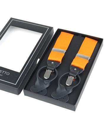 Suspenders Silk Orange F01