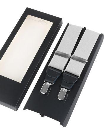 Suspenders White