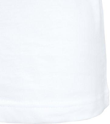 Detail T-Shirt Rund Hals 6-Pack (6 Stück) Weiß