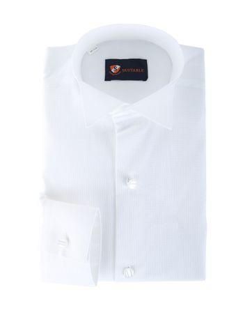 Tailcoat Shirt Pique White