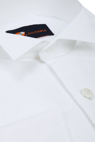 Tailcoat Shirt White