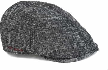 Ted Baker Cap Dark Grey Check
