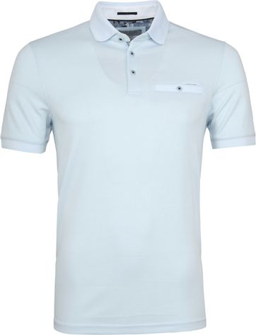 Ted Baker Frog Polo Lichtblauw