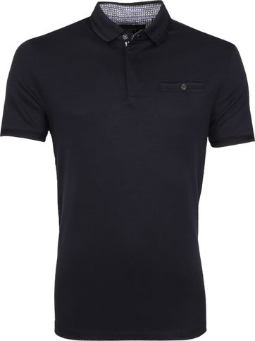 Ted Baker Plaza Polo Navy
