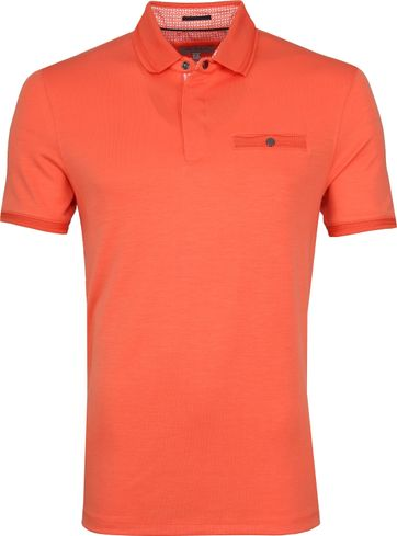 Ted Baker Plaza Poloshirt Orange