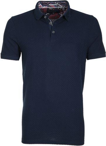 Ted Baker Poloshirt Knit Dunkeblau