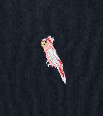 Detail Ted Baker Poloshirt Papegaai