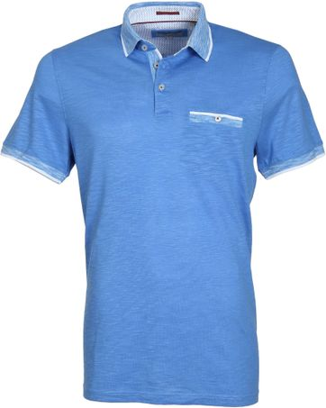 Ted Baker Poloshirt Space Blauw