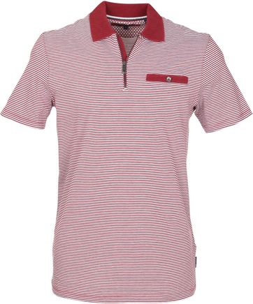 Ted Baker Poloshirt Streifen Rot