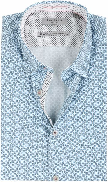 Ted Baker Shirt Geometric Pattern