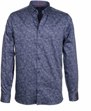 Ted Baker Shirt Marais Navy