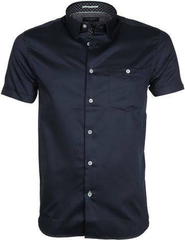 Ted Baker Shirt Uni Navy
