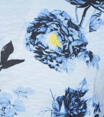 Detail Ted Baker T-Shirt Blau