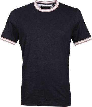 Ted Baker T-Shirt Dunkeblau