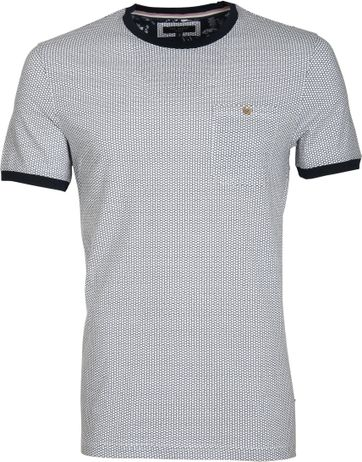 Ted Baker T-Shirt Honinggraat
