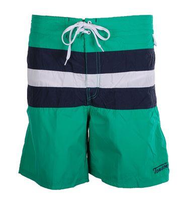 Tenson Badeshorts Streifen Grün