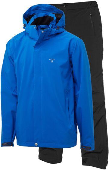 Tenson Biscaya Set Regen Anzug Blau