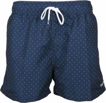 Tenson Dixon Swimshort Navy Dots