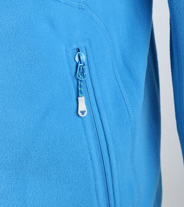 Tenson Fleece Cardigan Miller Blue