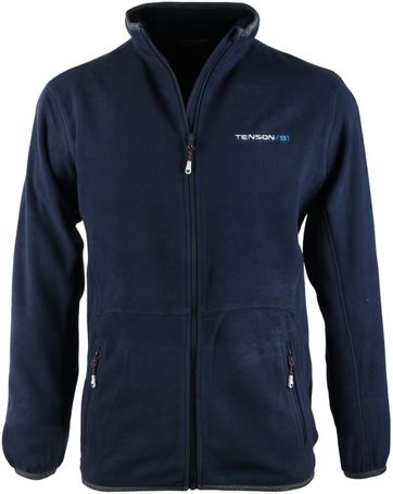Tenson Fleece Cardigan Miller Navy