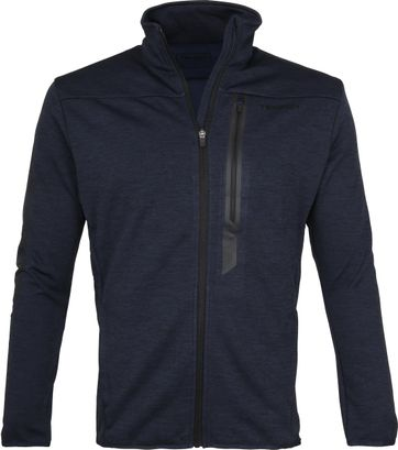 Tenson Fleece Cardigan Njord Navy