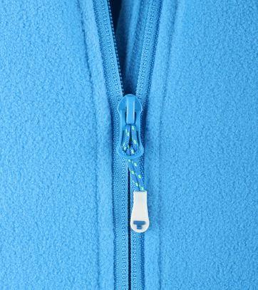Tenson Fleece Jacke Miller Blau
