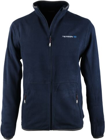 Tenson Fleece Jacke Miller Navy
