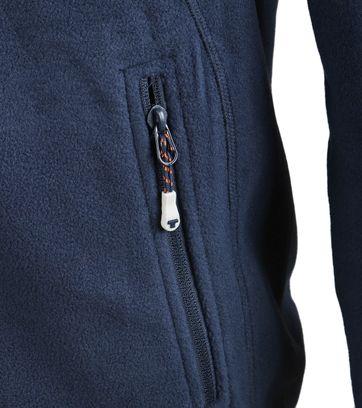 Detail Tenson Fleece Vest Miller Navy